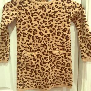 Other - Girls cheetah sweater dress
